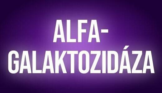 Alfa galaktozidaza